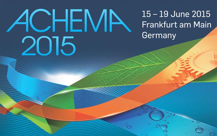 ACHEMA 2015 FRANKFURT AM MAIN